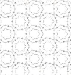 Seamless elegant silver pattern vector