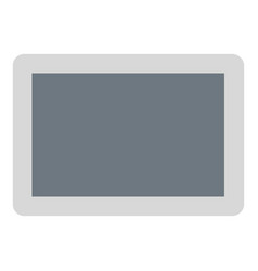 tablet icon flat style vector image