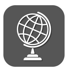 The globe icon Globe symbol vector image