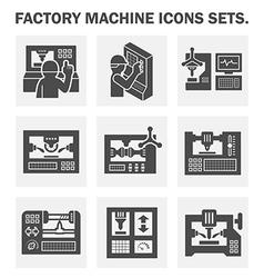 Machine Icon vector image vector image