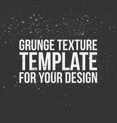 grunge texture template for your design vector image vector image