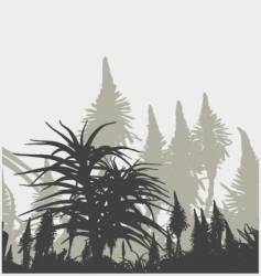plant life vector image vector image