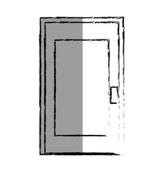 store door isolated icon vector image