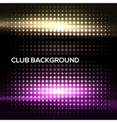 Abstract colorful disco club background vector