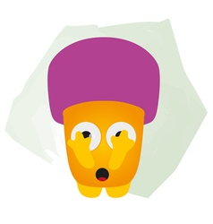 Baby Mushroom vector image