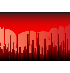 Blood City vector image