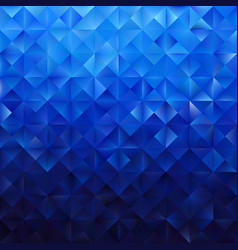 Blue geometric triangular pattern vector