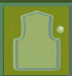 Cupboard green vector