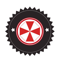 Elegant frame emblem icon vector