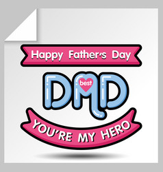 Fathers day icons 14 vector