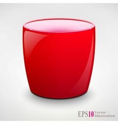 Isolated Realistic Tea Cup or Coffey Mug vector image