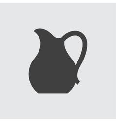 Jug icon vector image