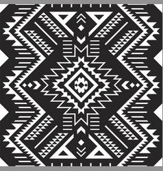 Tribal aztec navajo seamless pattern vector