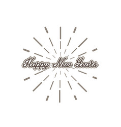 happy-new-years vector image