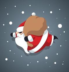 Santa-Claus -Merry-xmas vector image