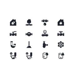 Home renovation icons Lyra series vector image vector image