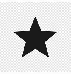 5 point classic star vector