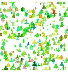 Abstract chaotic pine tree background - seasonal vector