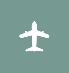 airplane icon simple vector image vector image