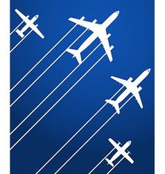 Aviation background vector