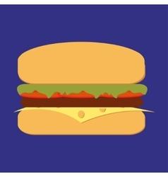 Bbq burger vector