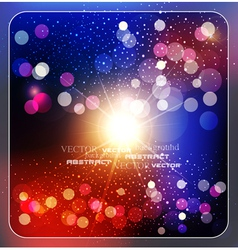 colorful abstract background with rays vector image