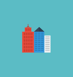 flat icon new york element of vector image
