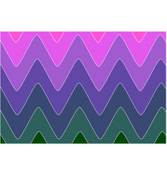 gradation wave indian style morning colors vector image
