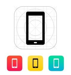 Phone screen icon vector