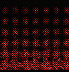 Red abstract geometrical dot pattern - snowfall vector