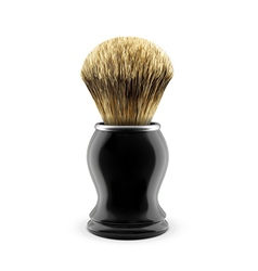 Shaving brush vector
