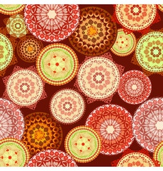 arabesques seamless pattern vector image vector image