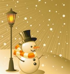 snowing vector image
