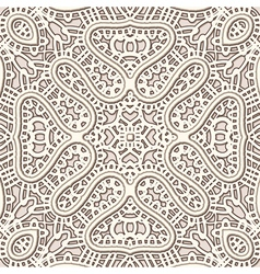 Old lace pattern vector image