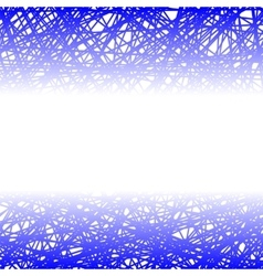 Abstract blue line background vector