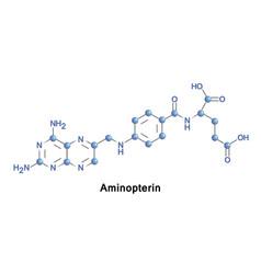 Aminopterin antineoplastic drug vector
