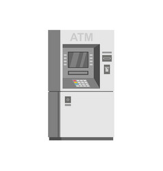 Bank atm machine vector