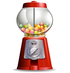 Candy machine vector image