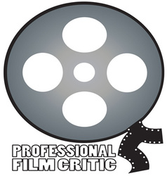Professional film critic vector