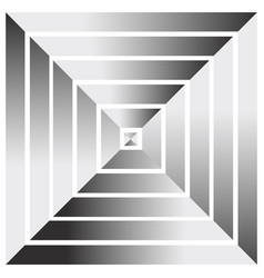 Pyramid from above abstract graphics vector
