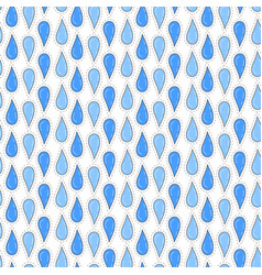 rain drops seamless pattern background for print vector image