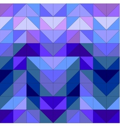 Seamless blue wrapping pattern or tile background vector image