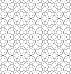 Seamless pattern of circuit cut vector
