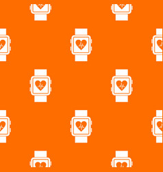 smartwatch pattern seamless vector image