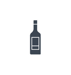 Wine related glyph icon vector