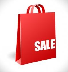 sale bag vector image vector image