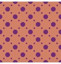 Polka dot geometric seamless pattern 2012 vector image vector image