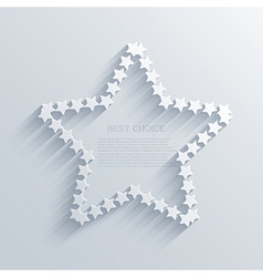 star background design Eps10 vector image vector image