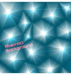 Abstract three-dimensional background vector image vector image