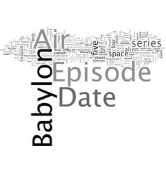 Babylon dvd review vector